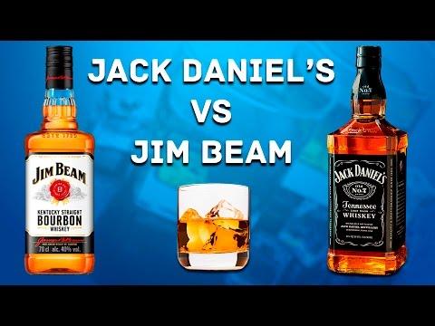 Jack Daniels Vs Jim Beam - Обзор и Сравнение (Джек Дэниелс и Джим бим)