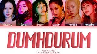 APINK (에이핑크) – 'Dumhdurum (덤더럼)' (Color Coded Lyrics…