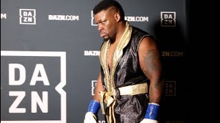 HOW JARRELL 'BIG BABY' MILLER PSYCHS HIMSELF UP MOMENTS BEFORE GOING INTO THE RING
