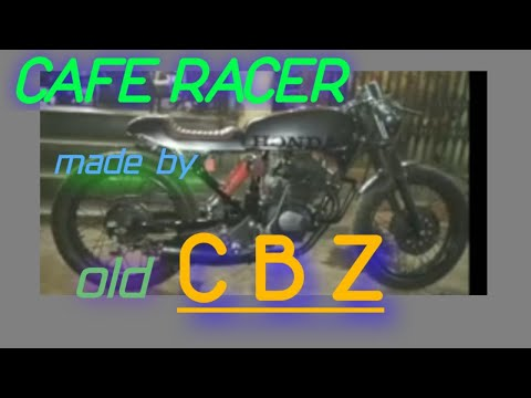 CAFE RACER bike made by old CBZ