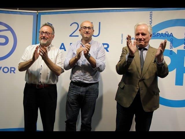 Mitin de Joaquín Villanova, Joaquín Ramirez y Manuel López
