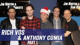 Rich Vos & Anthony Cumia - Yeezys, Staff Christmas Gifts, Animal Movies - Jim Norton & Sam Roberts