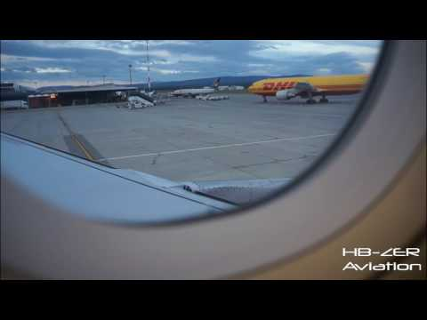 Airbus A320 easyJet CH - Pushback, Start-up, Taxi & Take-off Basel-Mulhouse-Freiburg to Alicante
