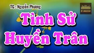 Karaoke Tình Sử Huyền Trân | Song Ca | Dây Fa+ Do+ | TG : Nguyễn Phương  | Beat Ca Cổ