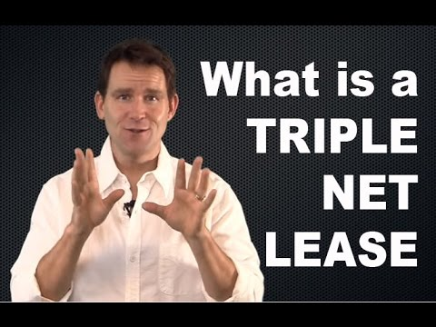 What is a Triple Net Lease?