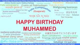Muhammed   Languages Idiomas - Happy Birthday