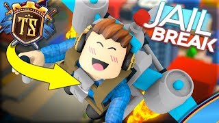 FINDER THE BRAND NEW JETPACK IN JAILBREAK! -Jailbreak   Danish Roblox