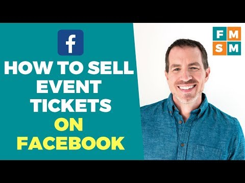 How To Sell Event Tickets On Facebook