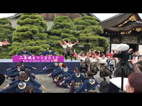 Japanese dance in Nijo-jo Castle, Kyoto 2017