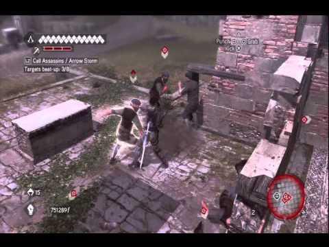 Assassin's Creed Brotherhood easy bandits farming |