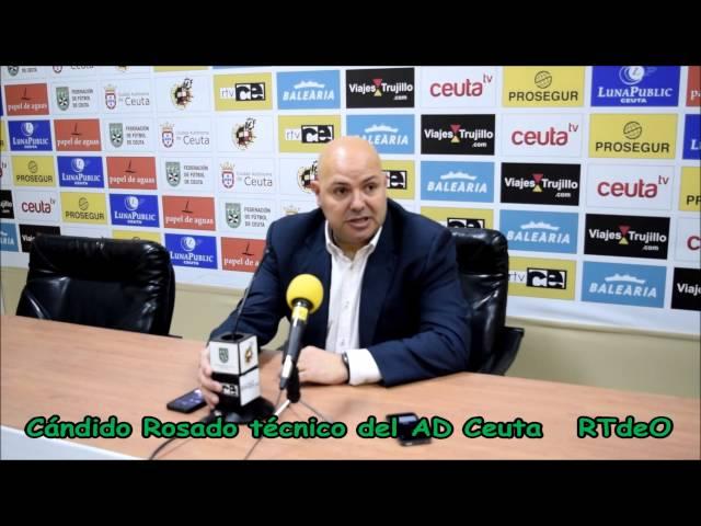 Declaraciones técnicos del Sevilla y del Ceuta