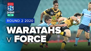 Super Rugby AU | Waratahs v Force - Rd 2 Highlights
