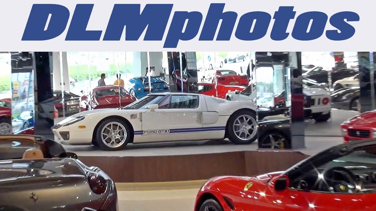 Dubai Trip 2016 Episode 4 Touring Exotic Car Dealerships More