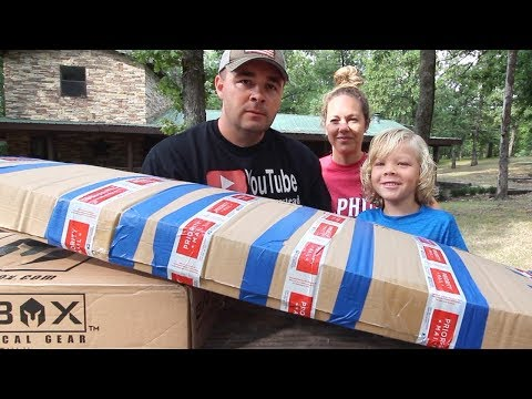Can a 5 Year Old Learn to Survive? This Box Could Save His LIFE!