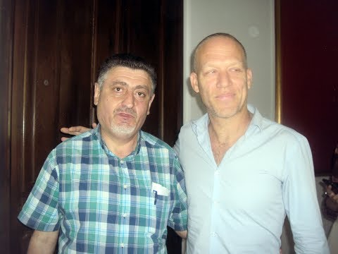 Avishai Cohen press in Yerevan, Armenia