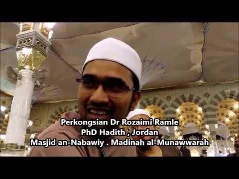 Perkongsian Dr Rozaimi Ramle di Masjid an-Nabawiy