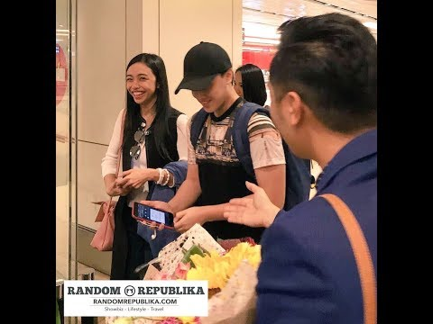 MayWard - Arrival at Singapore Changi Airport | Recorded LIVE Coverage
