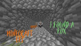 i found a fox in minecraft part 1