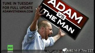 Adam Kokesh body slammed, choked, police brutality at Jefferson Memorial thumbnail