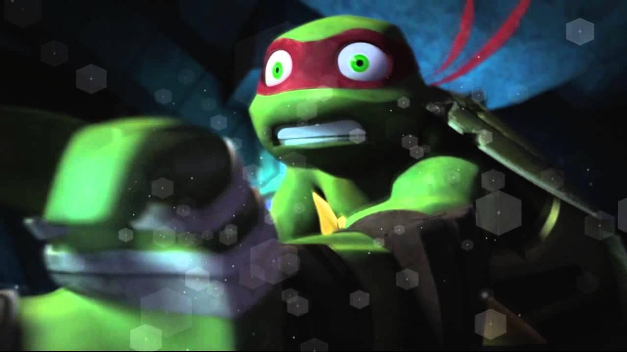 Raphael And Spike Slash Tmnt 2012 Youtube