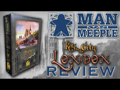 Key to the City: London (Quined Games) Review by Man Vs Meeple