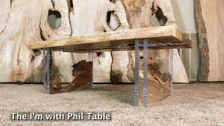 "Design From Destruction - Robin Wade Creates The ""i'm With Phil"" Table"