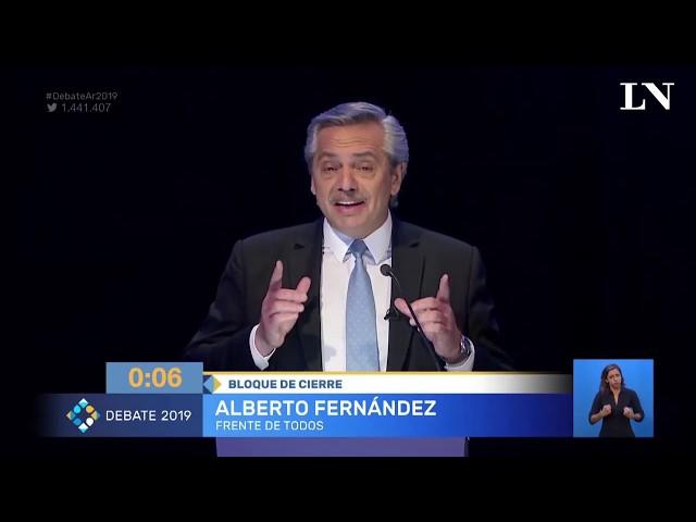 Los cruces más picantes del segundo debate presidencial 2019