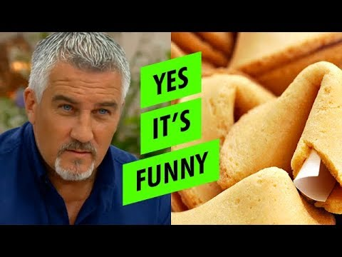 Paul Hollywood's 'un-fortunate' cookie #GBBO