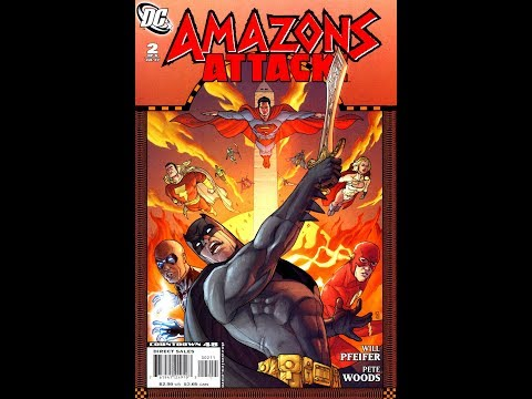 Amazons Attack! Issue #2  (2007)  -Video Review-