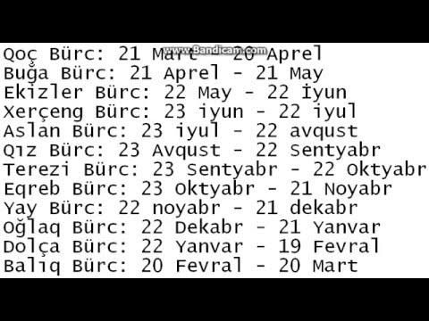 Burclər Və Tarixləri Youtube