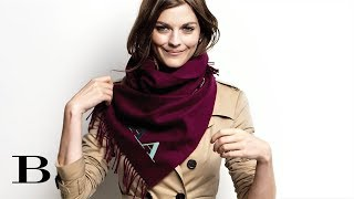 How to tie a Scarf – The Bandana, from Burberry