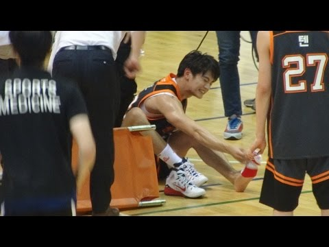 150718 SHINee Minho Game+Getting injured focus (Hope Basketball All Star 2015 with SMTOWN)