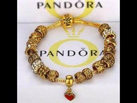 золотой браслет: PANDORA - золотой браслет который не стыдно подарить королеве! #Пандора
