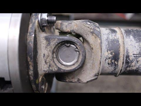 Ремонт кардана Nissan X-Trail