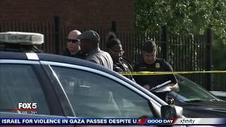 Man shot dead at murder vigil