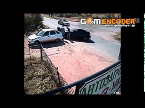 交通事故  最恐怖车祸瞬间