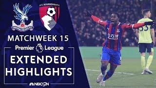 Crystal Palace v. Bournemouth   PREMIER LEAGUE HIGHLIGHTS   12/03/19   NBC Sports