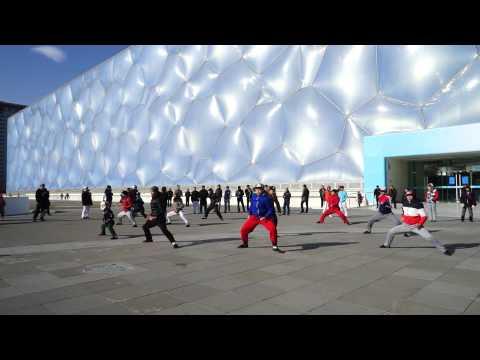 Legend of Kung Fu show in Beijing Water Cube