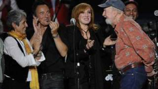 Pete Seeger and Bruce Springsteen-The ghost of Tom Joad.