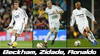 Ronaldo, Zidane & Beckham - Memories | Real Madrid 2005/2006 | HD