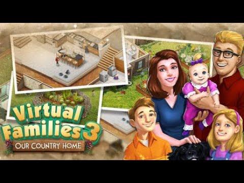 Virtual Families 3 (by LDW Software, LLC) IOS Gameplay Video (HD)
