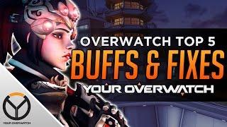 Overwatch: Top 5 Buffs & Fixes Needed