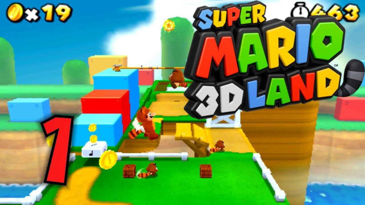 Super Mario 3D Land - Part 1 - Mit dem Tanuki in der 3D-Welt - YouTube