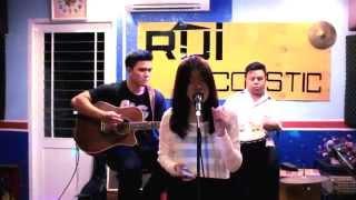 Vẽ Acoustic cover by Zen (Ngọc Quỳnh) Guitar Hậu Heo Cajon Rùi