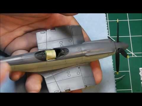 Airfix 1/48  Supermarine Seafire Update # 3