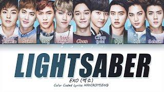 EXO 엑소 'LIGHTSABER' | Color Coded Lyrics HAN|ROM|ENG