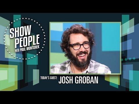 People with Paul Wontorek: Josh Groban of THE GREAT COMET