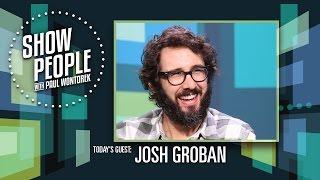 Show People with Paul Wontorek: Josh Groban of THE GREAT COMET