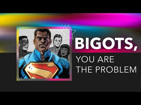 Your WHITENESS is the Problem With BLACK Superman!