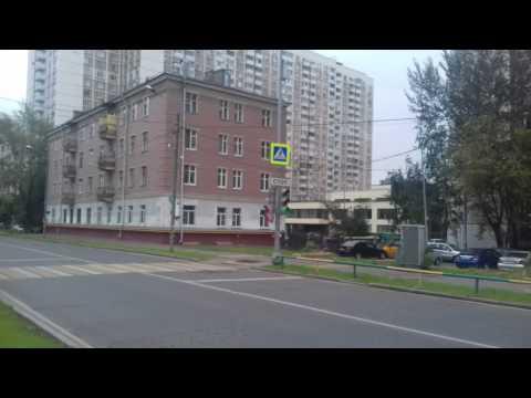 Москва затопленная. Останкинская улица
